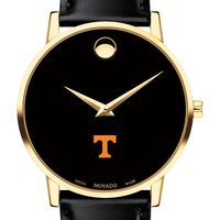 University of Tennessee Men's Movado Gold Museum Classic Leather