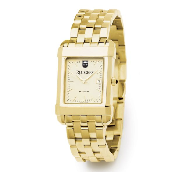 Christopher Newport University Men's Gold Quad with Bracelet - Image 2