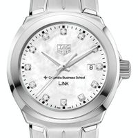 Columbia Business TAG Heuer Diamond Dial LINK for Women
