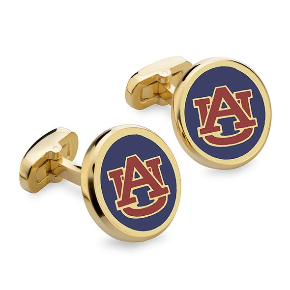 Auburn Enamel Cufflinks