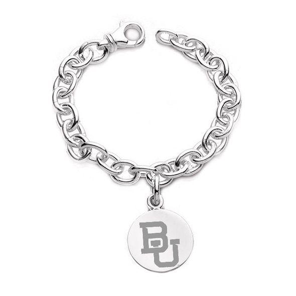 Baylor Sterling Silver Charm Bracelet
