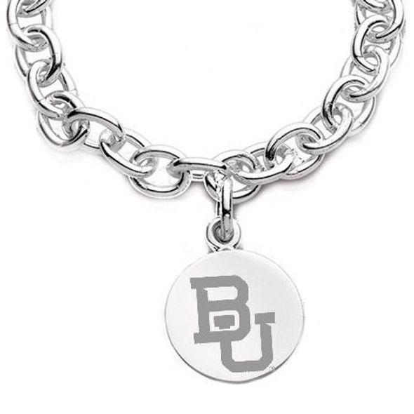 Baylor Sterling Silver Charm Bracelet - Image 2