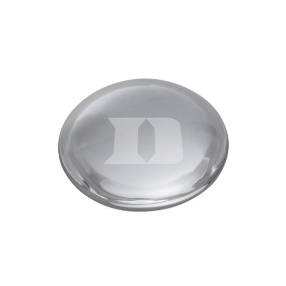 Duke Glass Dome Paperweight by Simon Pearce