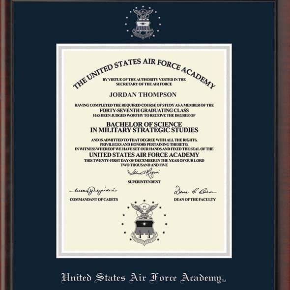 Yale Fidelitas Diploma Frame M. LaHart