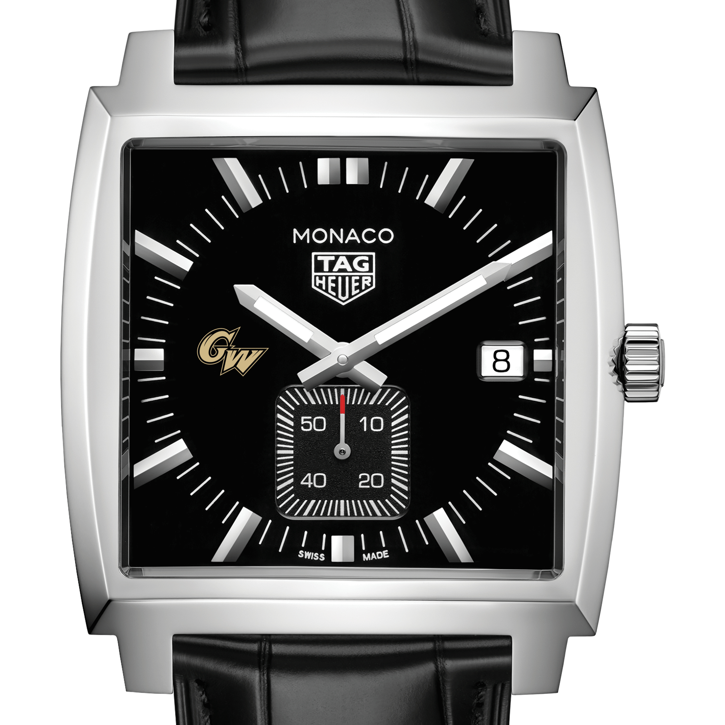 George Washington University TAG Heuer Monaco with Quartz Movement for Men