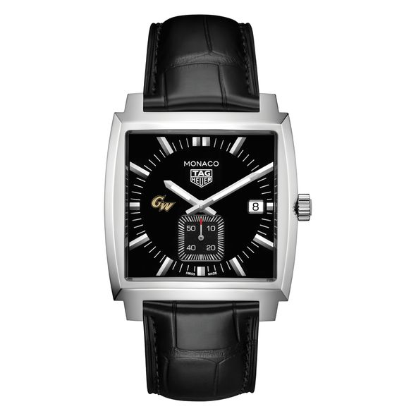 George Washington University TAG Heuer Monaco with Quartz Movement for Men - Image 2