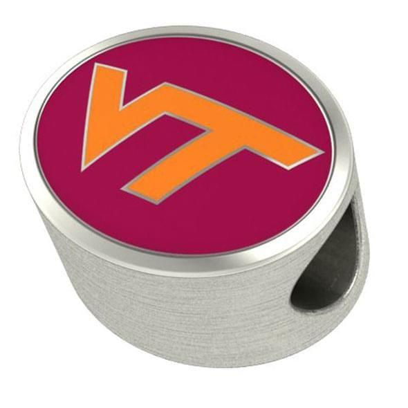 Virginia Tech Enameled Premium Bead - Image 2