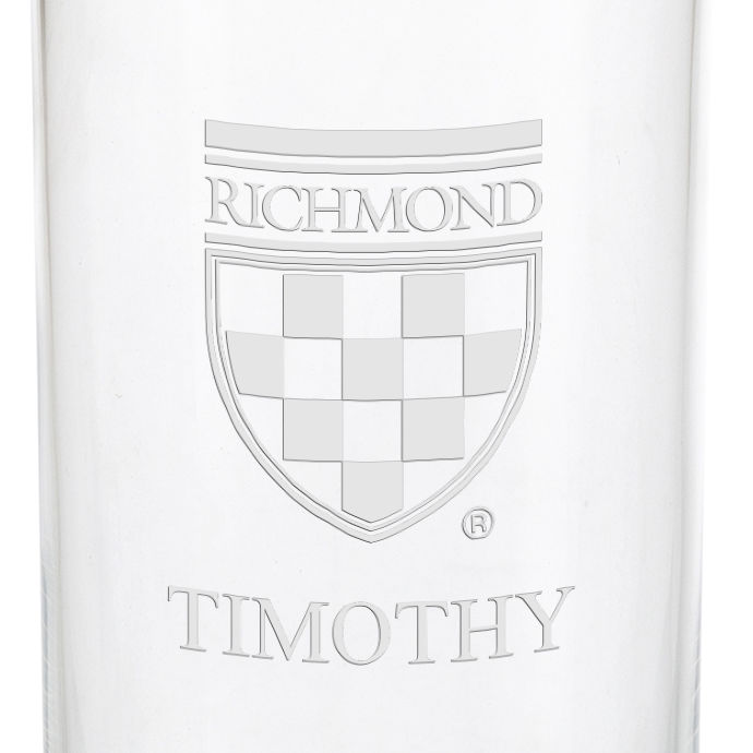 University of Richmond Iced Beverage Glasses - Set of 4 - Image 3