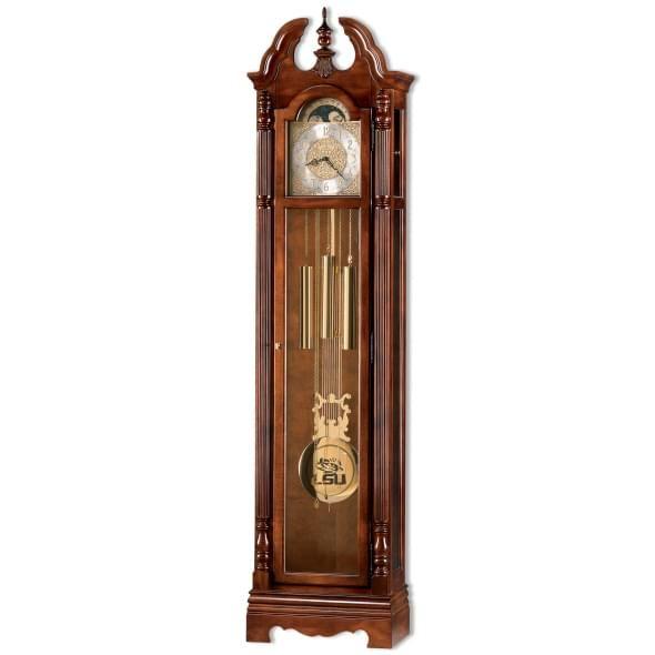 LSU Howard Miller Grandfather Clock - Image 1