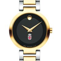 Brown University Women's Movado Two-Tone Modern Classic Museum with Bracelet