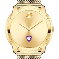 Holy Cross Men's Movado Gold Bold 44