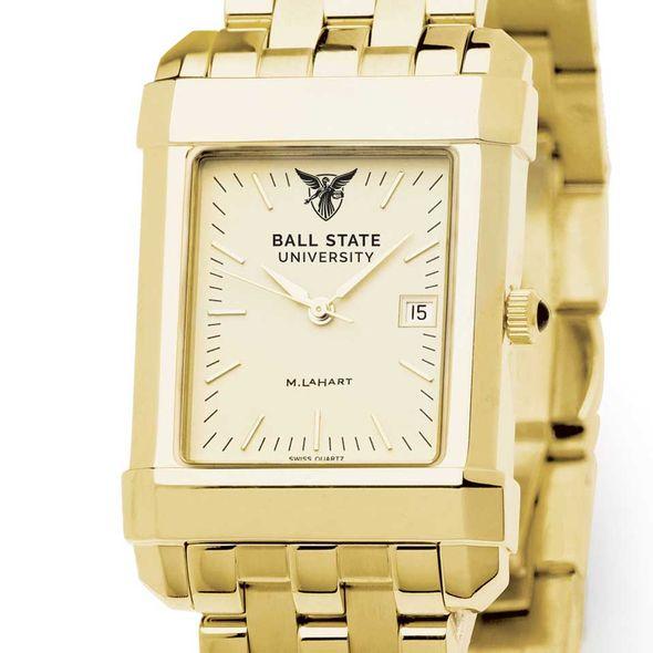 Ball State Men's Gold Quad with Bracelet - Image 1