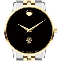 Boston College Men's Movado Two-Tone Museum Classic Bracelet