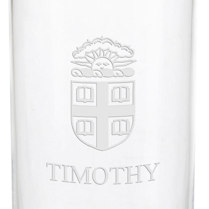 Brown University Iced Beverage Glasses - Set of 2 - Image 3
