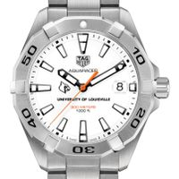 University of Louisville Men's TAG Heuer Steel Aquaracer
