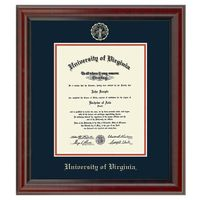 University of Virginia Diploma Frame, the Fidelitas