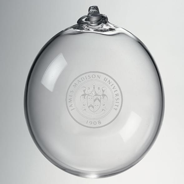 James Madison Glass Ornament by Simon Pearce - Image 2