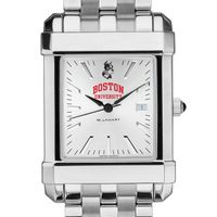 Boston University Men's Collegiate Watch w/ Bracelet