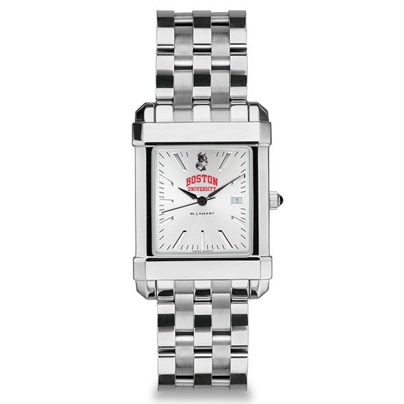 Boston University Men's Collegiate Watch w/ Bracelet - Image 2
