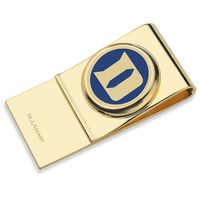 Duke University Enamel Money Clip