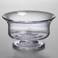 Trinity College Simon Pearce Glass Revere Bowl Med