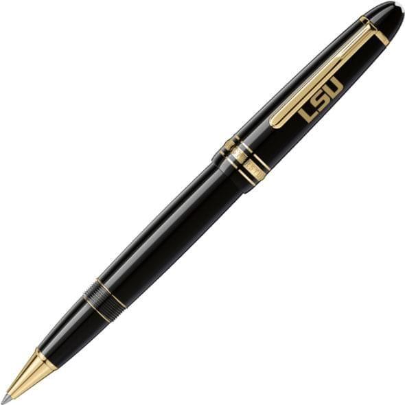 LSU Montblanc Meisterstück LeGrand Rollerball Pen in Gold