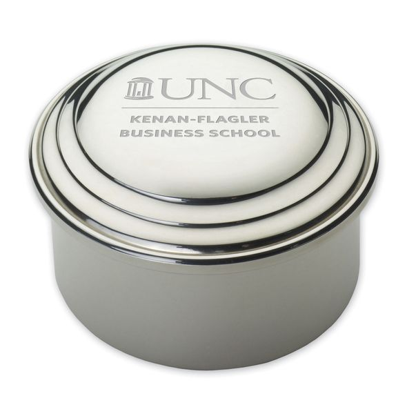 UNC Kenan-Flagler Pewter Keepsake Box