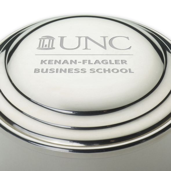 UNC Kenan-Flagler Pewter Keepsake Box - Image 2