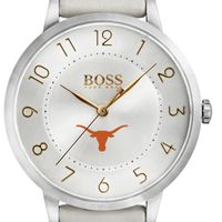 University of Texas Women's BOSS White Leather from M.LaHart