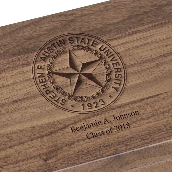SFASU Solid Walnut Desk Box - Image 3