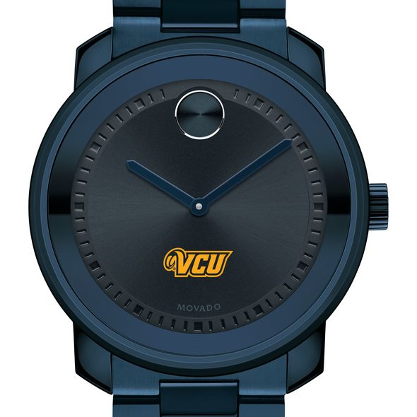 Virginia Commonwealth University Men's Movado BOLD Blue Ion with Bracelet - Image 1