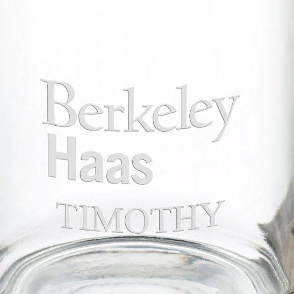 Haas School of Business 13 oz Glass Coffee Mug - Image 3