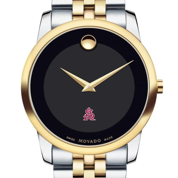 Arizona State Men's Movado Two-Tone Museum Classic Bracelet - Image 1
