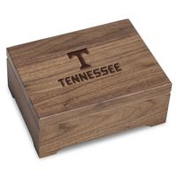 University of Tennessee Solid Walnut Desk Box