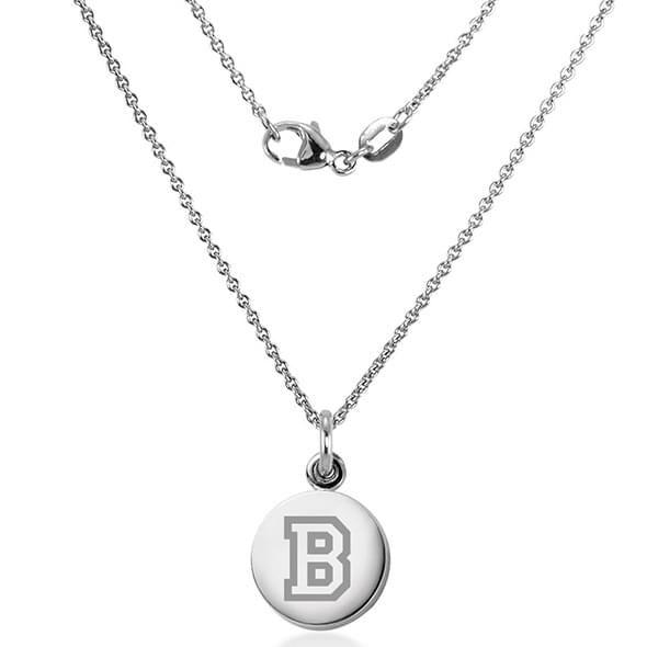 Bucknell University Necklace with Charm in Sterling Silver - Image 2
