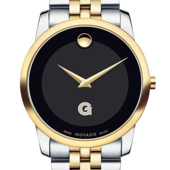 Georgetown Men's Movado Two-Tone Museum Classic Bracelet
