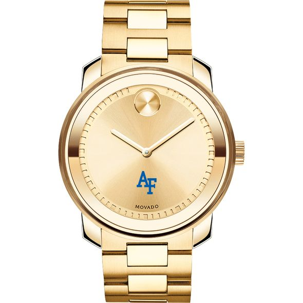 US Air Force Academy Men's Movado Gold Bold - Image 2