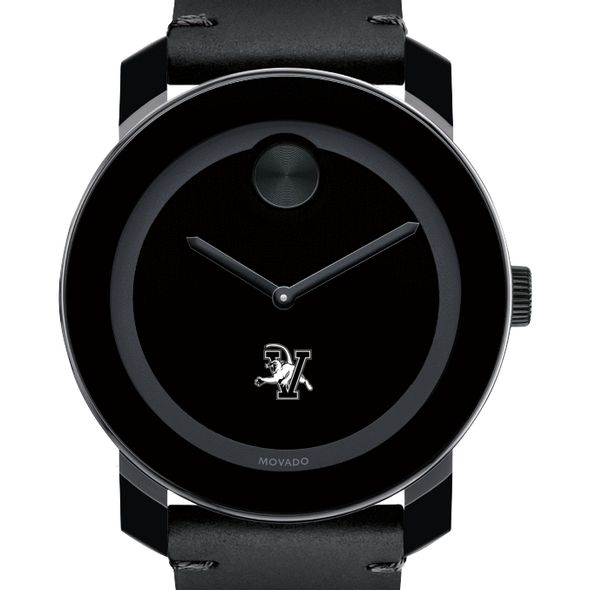 UVM Men's Movado BOLD with Leather Strap