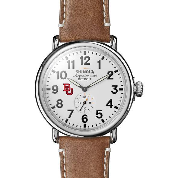 BU Shinola Watch, The Runwell 47mm White Dial - Image 2