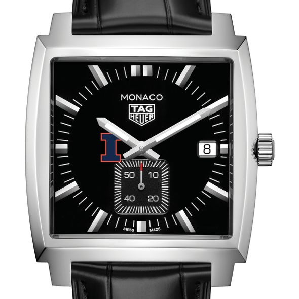 University of Illinois TAG Heuer Monaco with Quartz Movement for Men