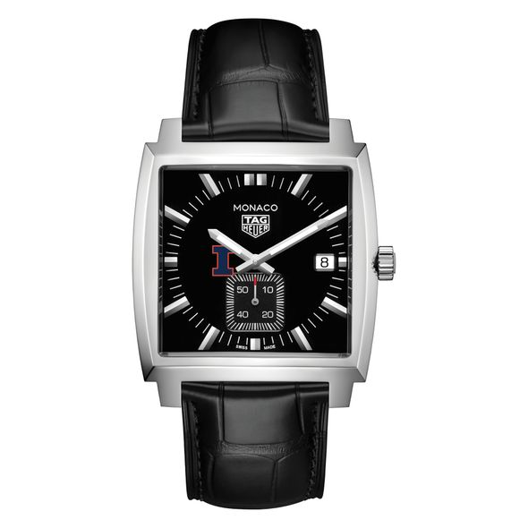 University of Illinois TAG Heuer Monaco with Quartz Movement for Men - Image 2