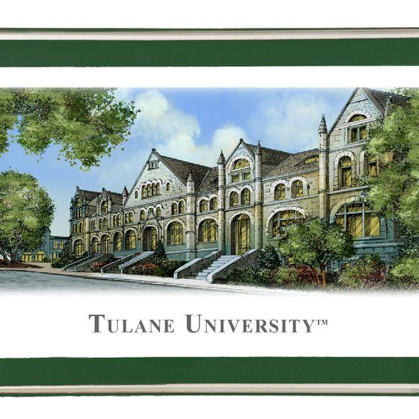 Tulane Eglomise Paperweight - Image 2