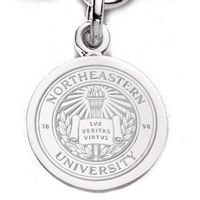 Northeastern Sterling Silver Charm