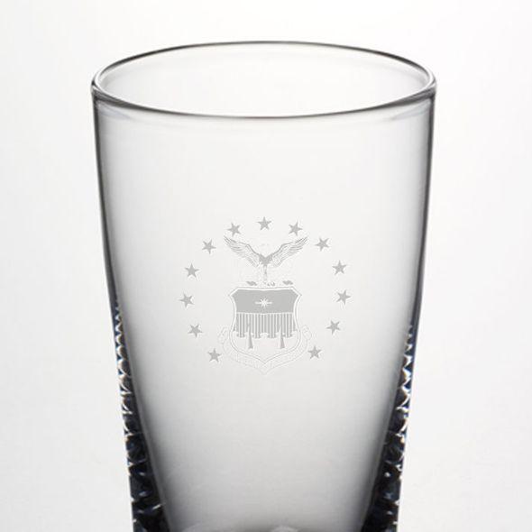 USAFA Pint Glass by Simon Pearce - Image 2