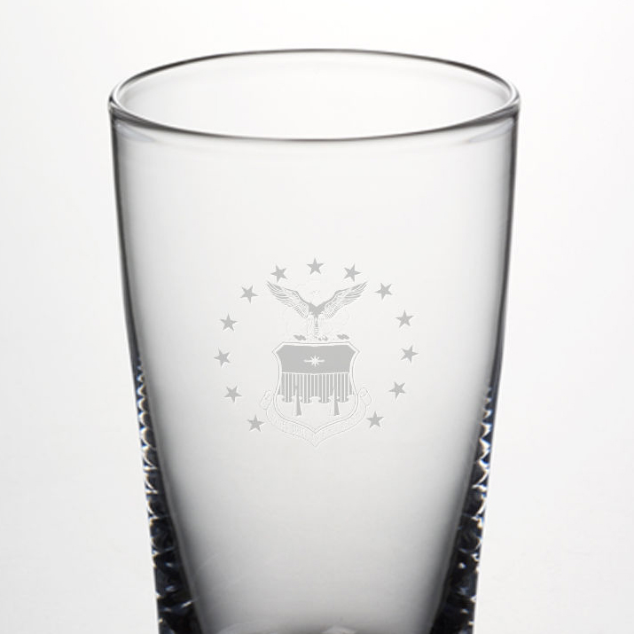 USAFA Pint Glass by Simon Pearce - Image 2
