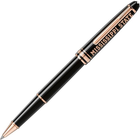 Mississippi State Montblanc Meisterstück Classique Rollerball Pen in Red Gold