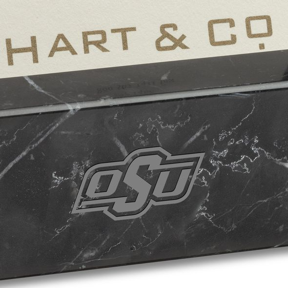 Oklahoma State Marble Business Card Holder - Image 2