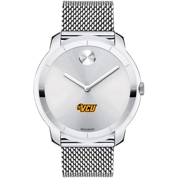 Virginia Commonwealth University Men's Movado Stainless Bold 44 - Image 2