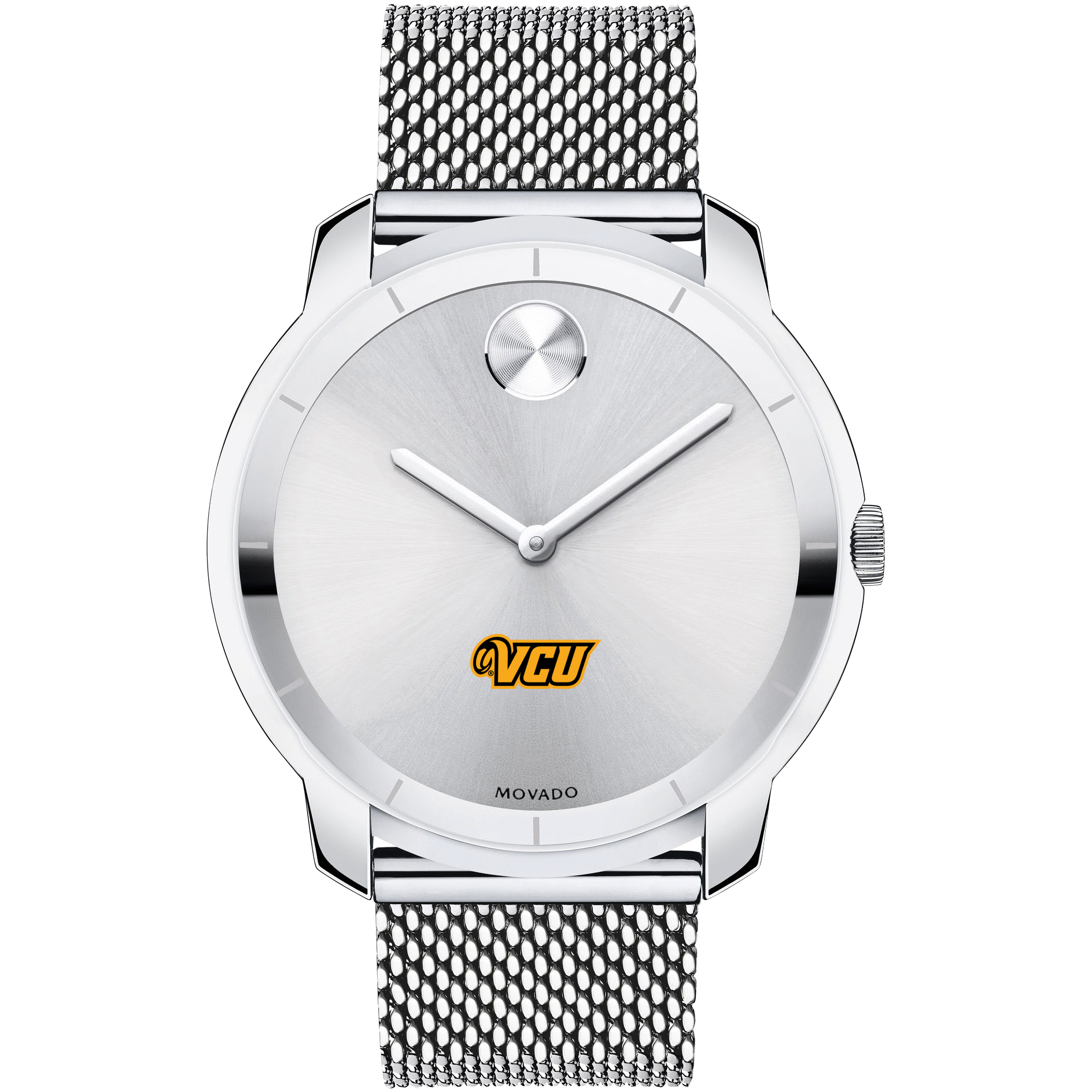 VCU Men's Movado Stainless Bold 44 - Image 2