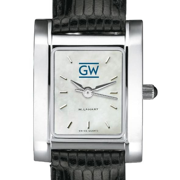 George Washington Women's MOP Quad with Leather Strap